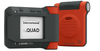 atex s.quad two way pager